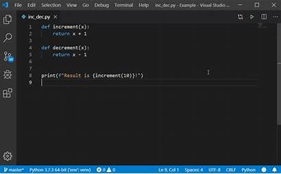 Python Code Visual Studio Release October Run