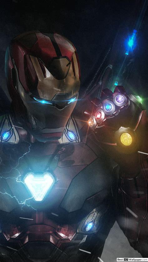 avengers endgame ironman  infinity gauntlet hd
