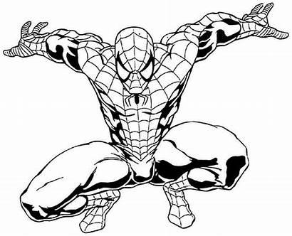 Coloring Superhero Spider Female Printable Superheroes Imagens