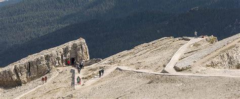 Hiking Discendent To The Passo Falzarego