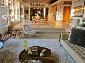 Restoration Hardware Dining Rooms by Santa Monica Mid Century Modern Living Room Los
