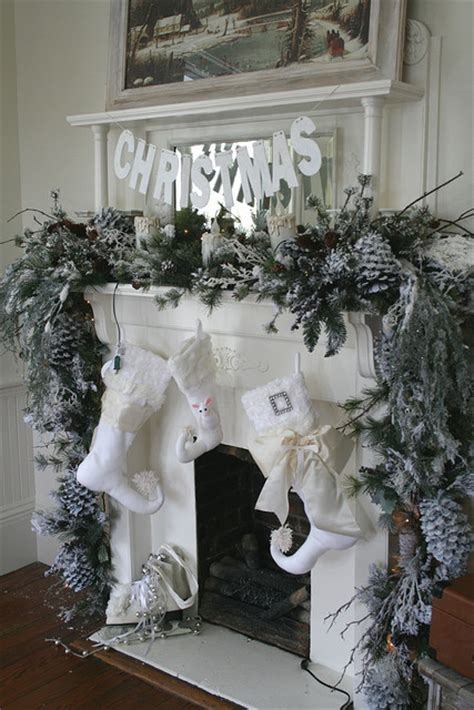 mantels dressed for christmas and a link party celebrate decorate