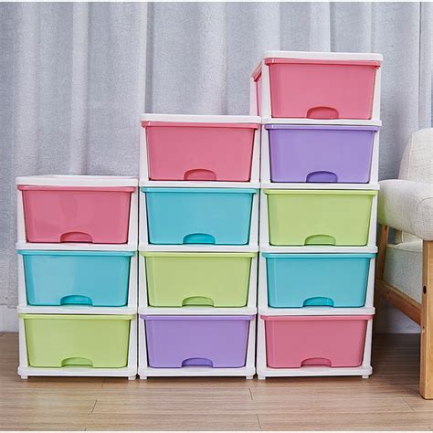 large drawer cabinet multi layer box clothing