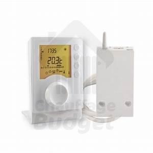 Thermostat Chaudiere Sans Fil : thermostat d 39 ambiance programmable sans fil tybox 137 ~ Dailycaller-alerts.com Idées de Décoration