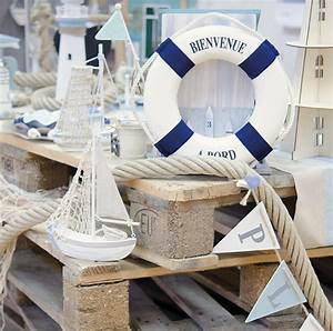 Mariage Theme Mer : bou e d coration th me mer avec corde d coration th me mer ~ Nature-et-papiers.com Idées de Décoration