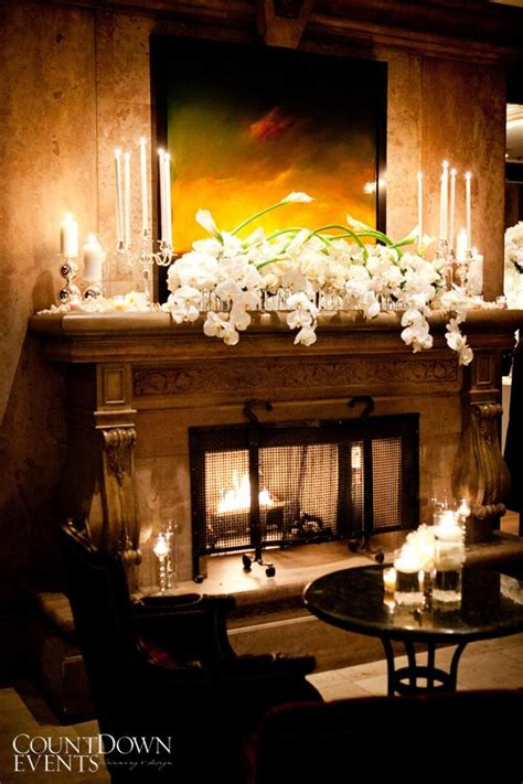 1000 Ideas About Wedding Fireplace Decorations On