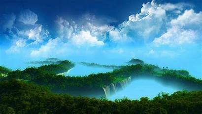 Desktop Nature Waterfall Wallpapersafari Code