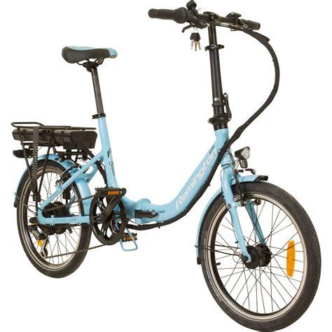 e bike faltrad remington city folder 20 zoll faltrad e bike klapprad