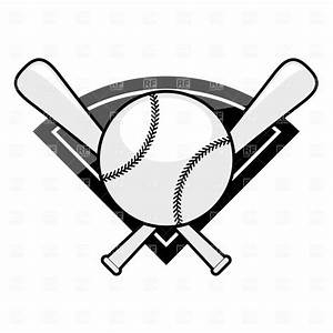 Baseball Bat And Ball Clipart - Clipart Suggest