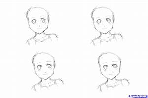 To Draw Anime Hair For Girls, Step By Step, Anime Hair ...