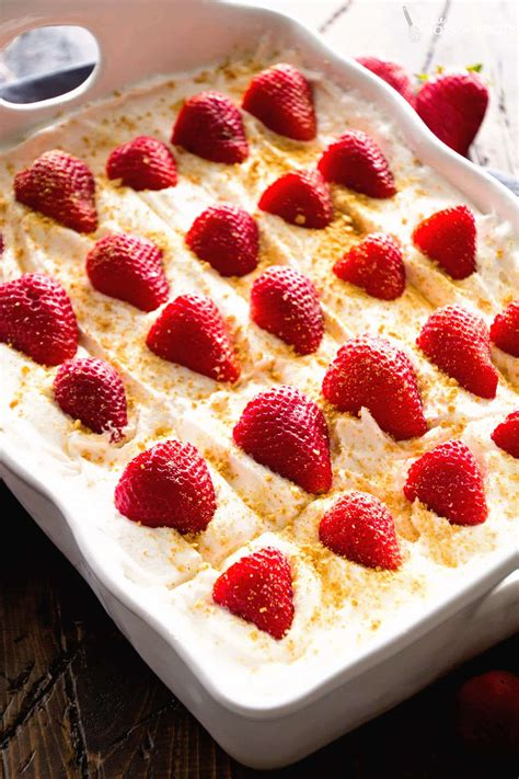 bake strawberry cheesecake recipe dishmaps