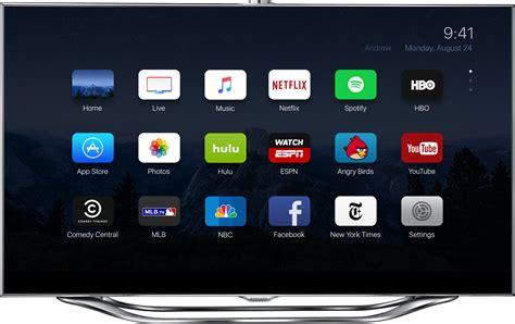 appletv apps samsung es8000 front 9to5mac