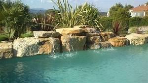 Piscine Avec Cascade : piscine avec cascades arts et voyages ~ Premium-room.com Idées de Décoration