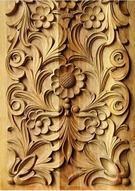 carved flowers  floral patterns woodcarving classic wood carving pinterest flower