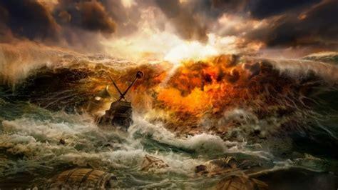 penyebab banjir  dampak  akibat  banjir gambar foto