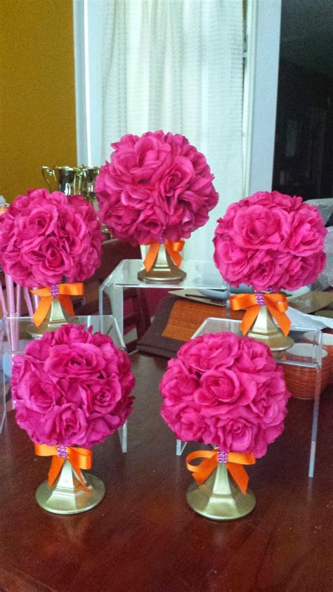 felicia s event design and planning orange and pink rose