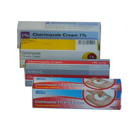 2 X 20g Clotrimazole Canesten 1 Anti Fungal Skin Cream