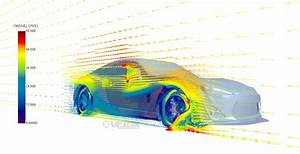 Front Splitter Endplate Cfd Analysis