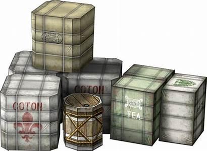 Papercraft Terrain Showthread Cargo Bales Dave