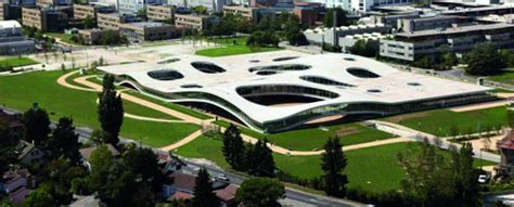 Rolex Learning Center In Lausanne by Bollinger Grohmann Structural Engineering For Epfl