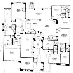 5 bedroom house floor plans one story 5 bedroom house floor plans
