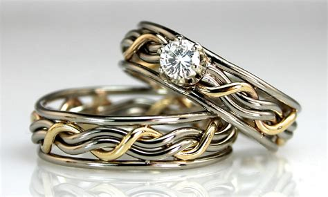 special  unique wedding rings wedding promise