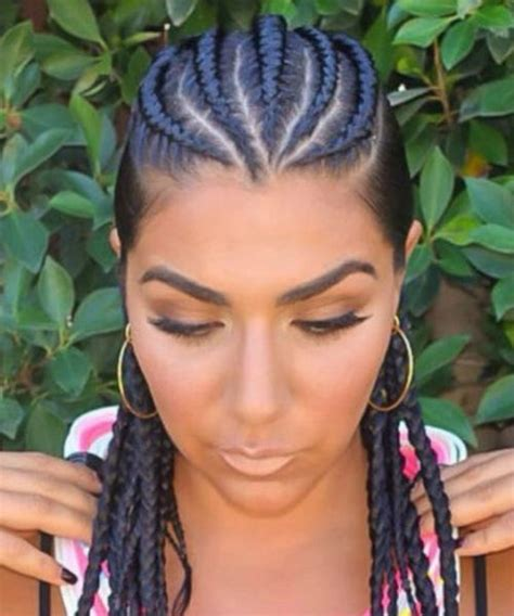 Cornrow Hairstyles by 6 Cornrow Hairstyles That Ll Make Your Drop My