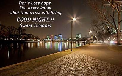 Thoughts Nice Night Wallpapers Quote Quotes Thought