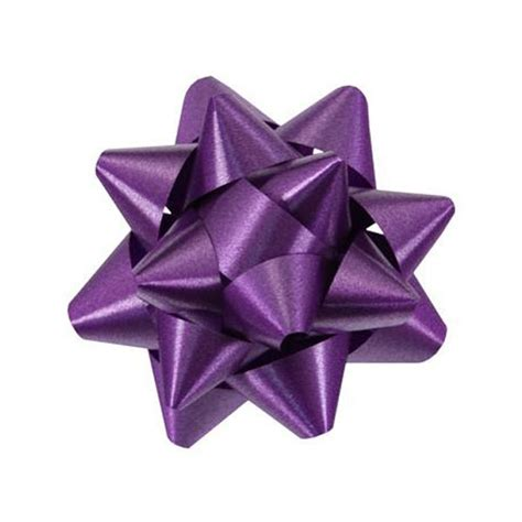 purple starbows from berwick christmas bows in bulk