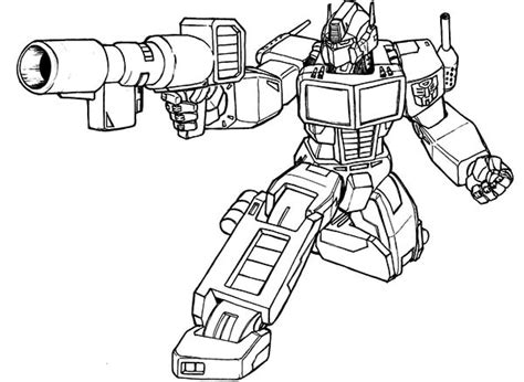 coloring pages  grimlock transformer