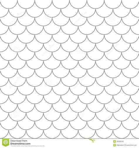 seamless pattern  fish scales stock vector image