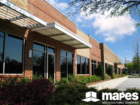 preston ridge commons mapes canopies aluminum canopies metal awnings mapes architectural