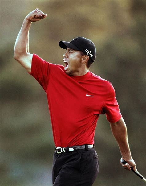 Masters: Photos of Tiger Woods throughout the years at ...