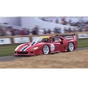 Ferrari F40 LMs Brutal Launches Are Pure Joy