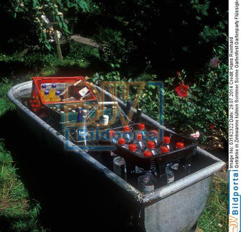 Getränke Kühlen Gartenparty by Details Zu 0003182322 Getr 228 Nke In Zinkwanne K 252 Hlen