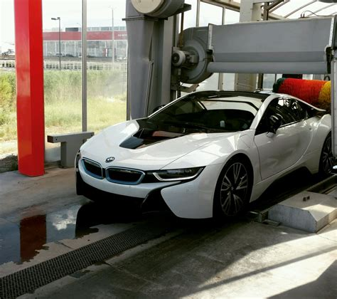Bmw Car Wash by Bmw I8 Car Wash Wallpress Images