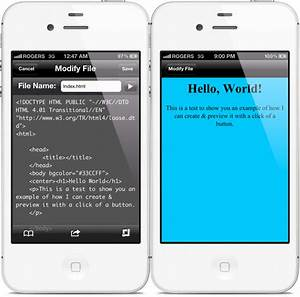 create edit and preview html files directly on your With edit documents on iphone