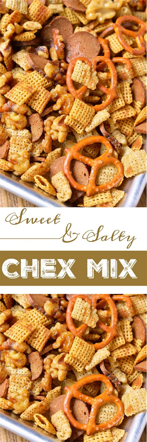 chex mix recipes sweet and salty chex mix recipe wonkywonderful