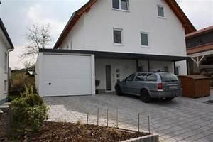 Haus Mit Doppelcarport : carport anbau carport an haus und garage ~ Articles-book.com Haus und Dekorationen