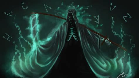 Anime Grim Reaper Wallpaper - grim reaper backgrounds 68 images