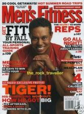 Tiger Woods Traded Men's Fitness Cover For National ...