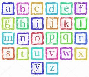 Alphabet metal stamp small letters single color stock for Alphabet photo letters