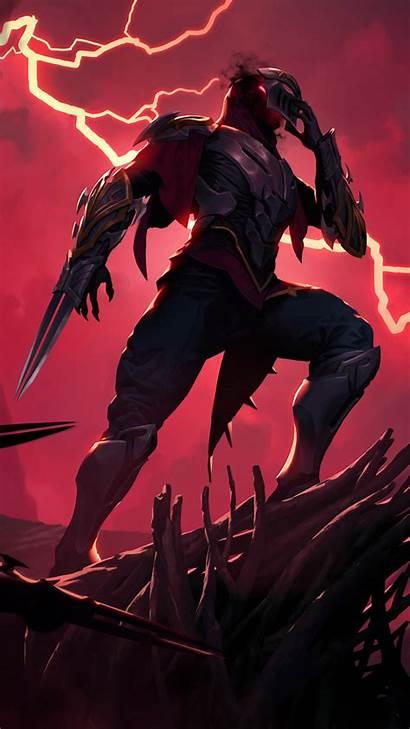 Legends Zed League 4k Lol Runeterra Mobile