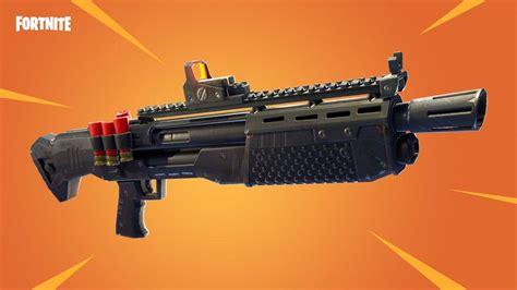 fortnite heavy shotgun released  update