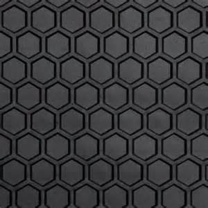 custom all weather hexomat heavy duty rubber floor mat 3pc rolls royce mats ebay