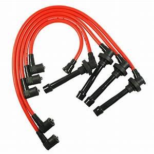 Spark Plug Wire Set For Honda Civic Del Sol 92