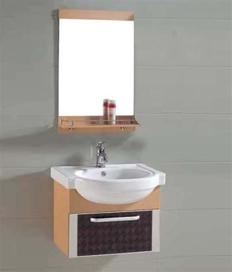 Bathroom Basins And Cabinets by Buy Sanitop Ceramic Wash Basin And Pvc Bathroom