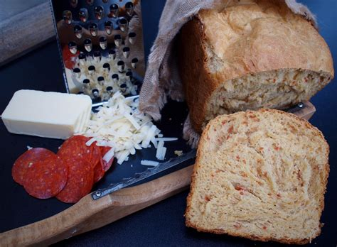 This is a delicious chewy bread flecked with spicy pepperoni and mozzarella cheese. Cuisinart Convection Bread Maker Recipe Can You Make Pepperoni And Cheese Bread : Looking for ...