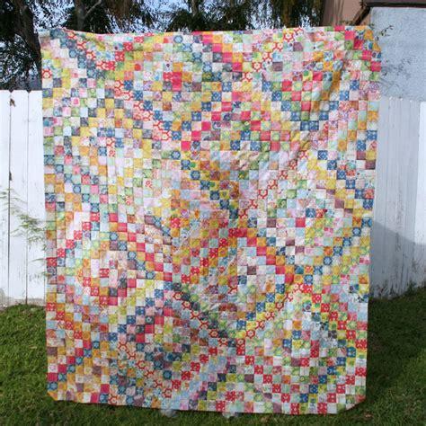 trip around the world quilt pattern scrappy trip along