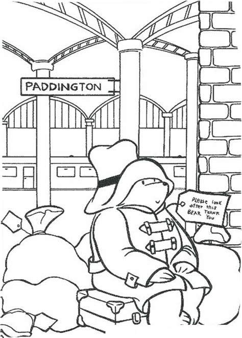 Kleurplaat Paddington by Desenho De Paddington Na Esta 231 227 O De Trem Para Colorir
